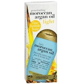 organix moroccan argan oil light penetrating oil review