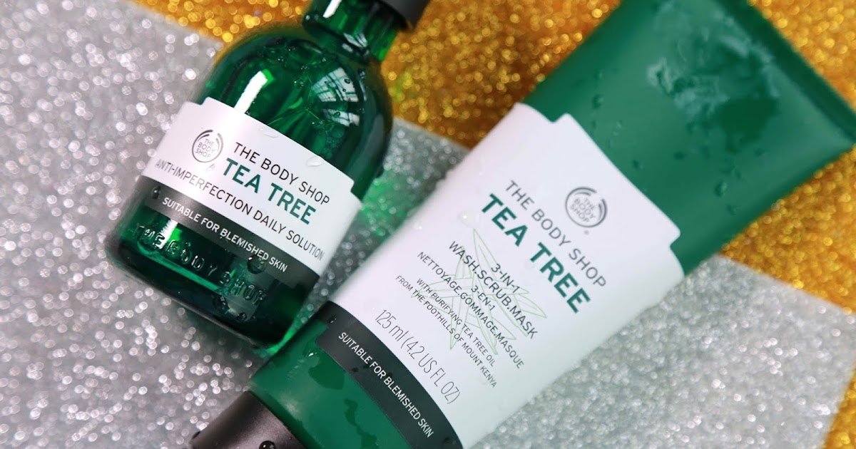 the body shop tea tree daily solution review