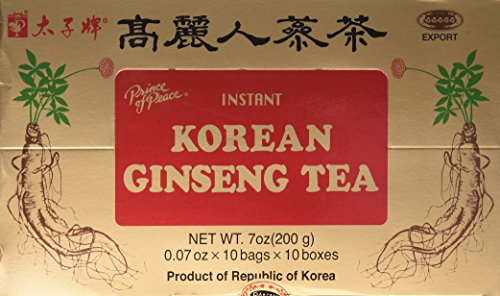 prince of peace ginseng tea review