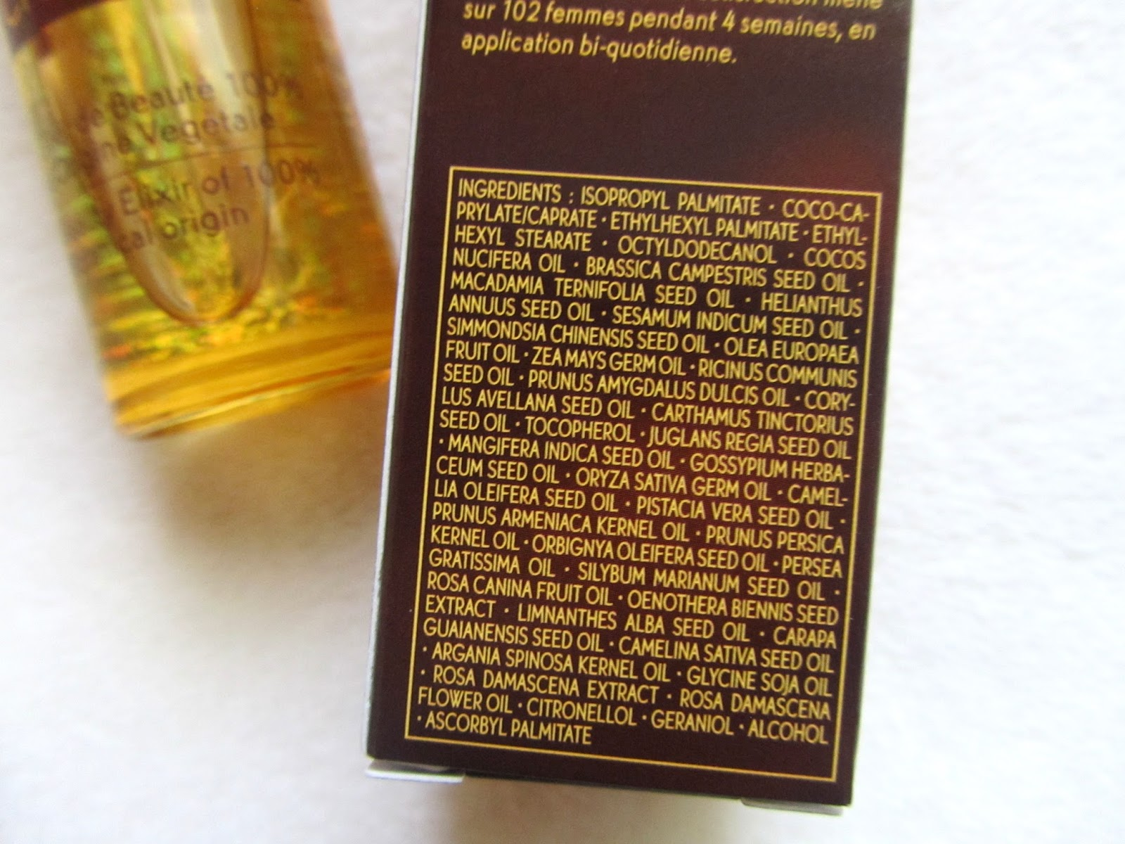 yves rocher riche creme beauty elixir reviews