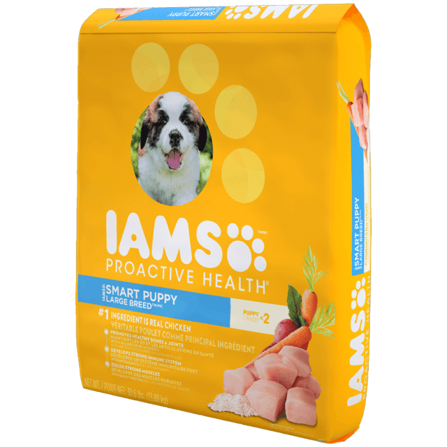 iams smart puppy large breed reviews