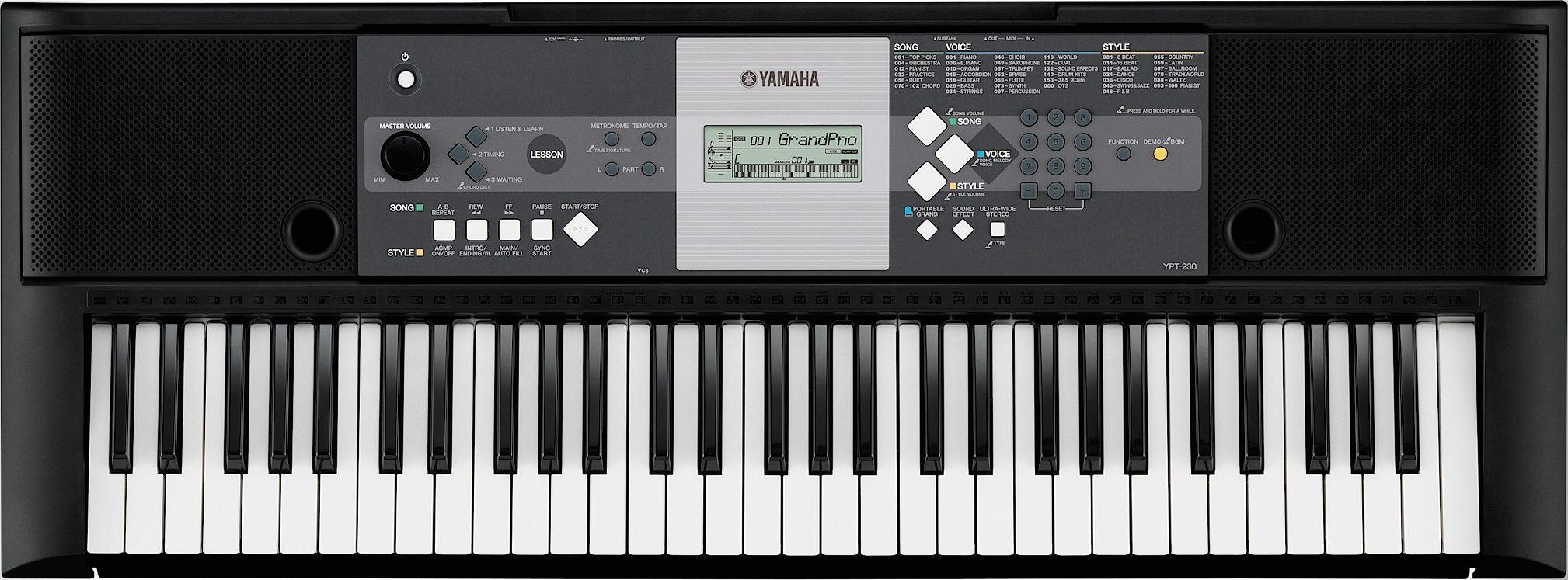 yamaha ypt 230 keyboard reviews