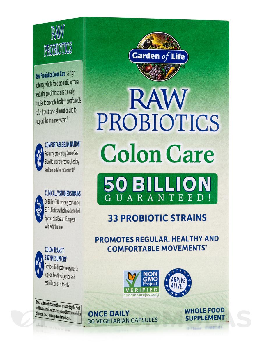 raw probiotics colon care reviews