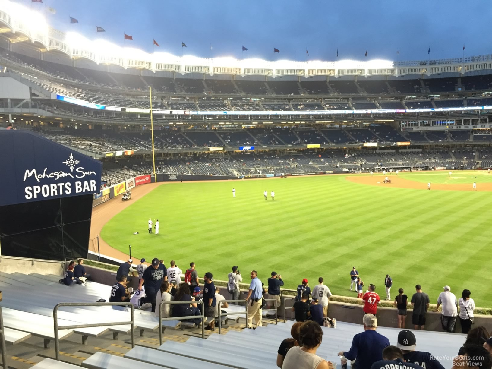 yankee stadium bleacher seats reviews