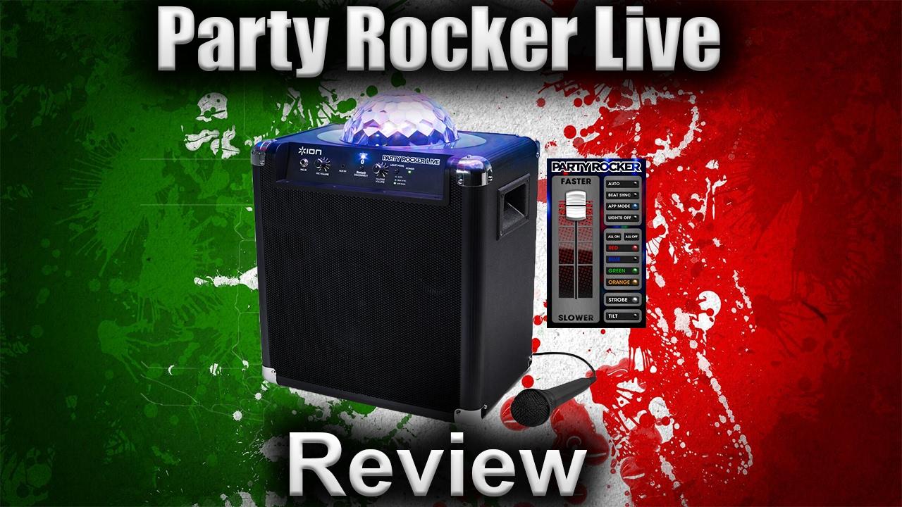 ion audio party rocker plus review