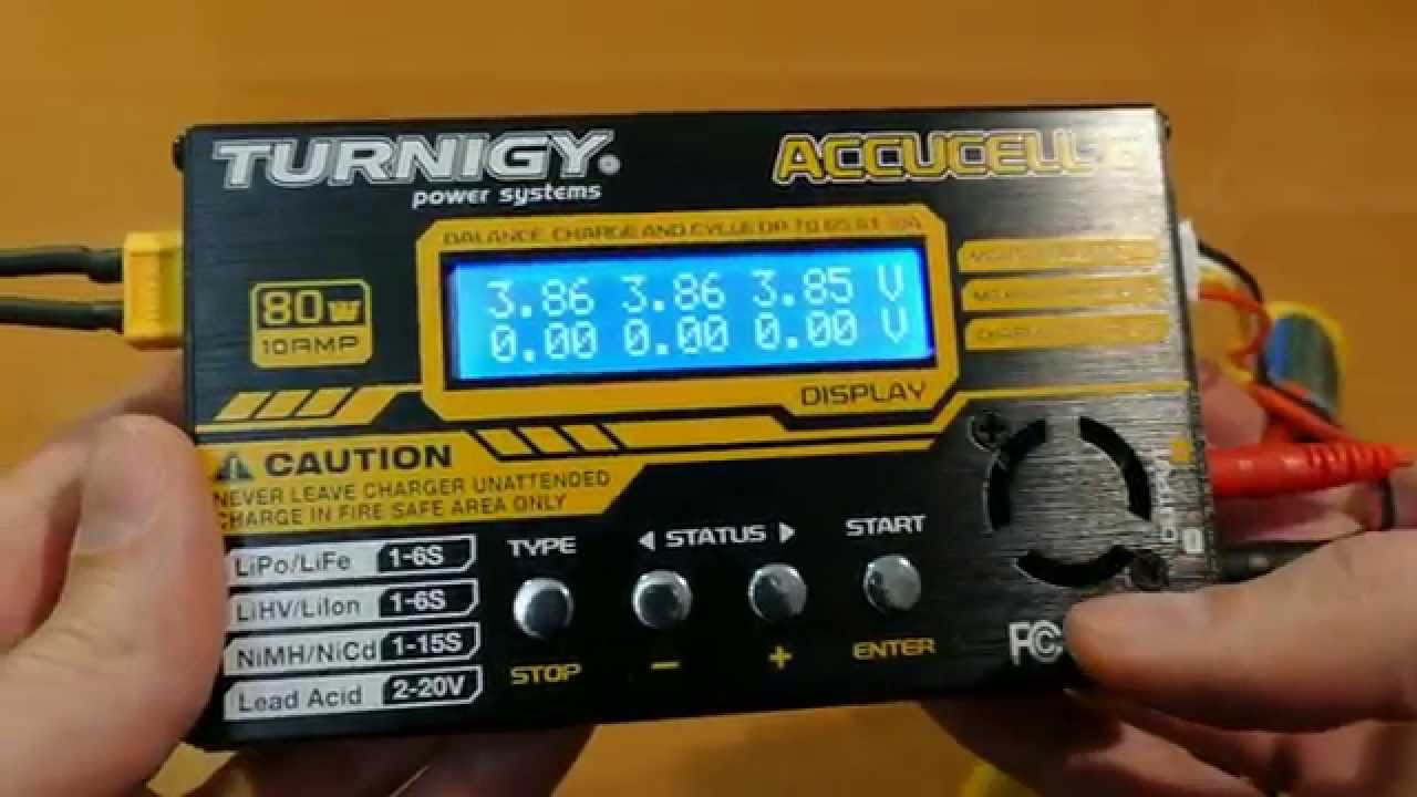 turnigy accucel 6 80w review