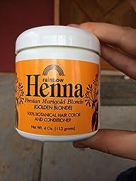 rainbow henna strawberry blonde review