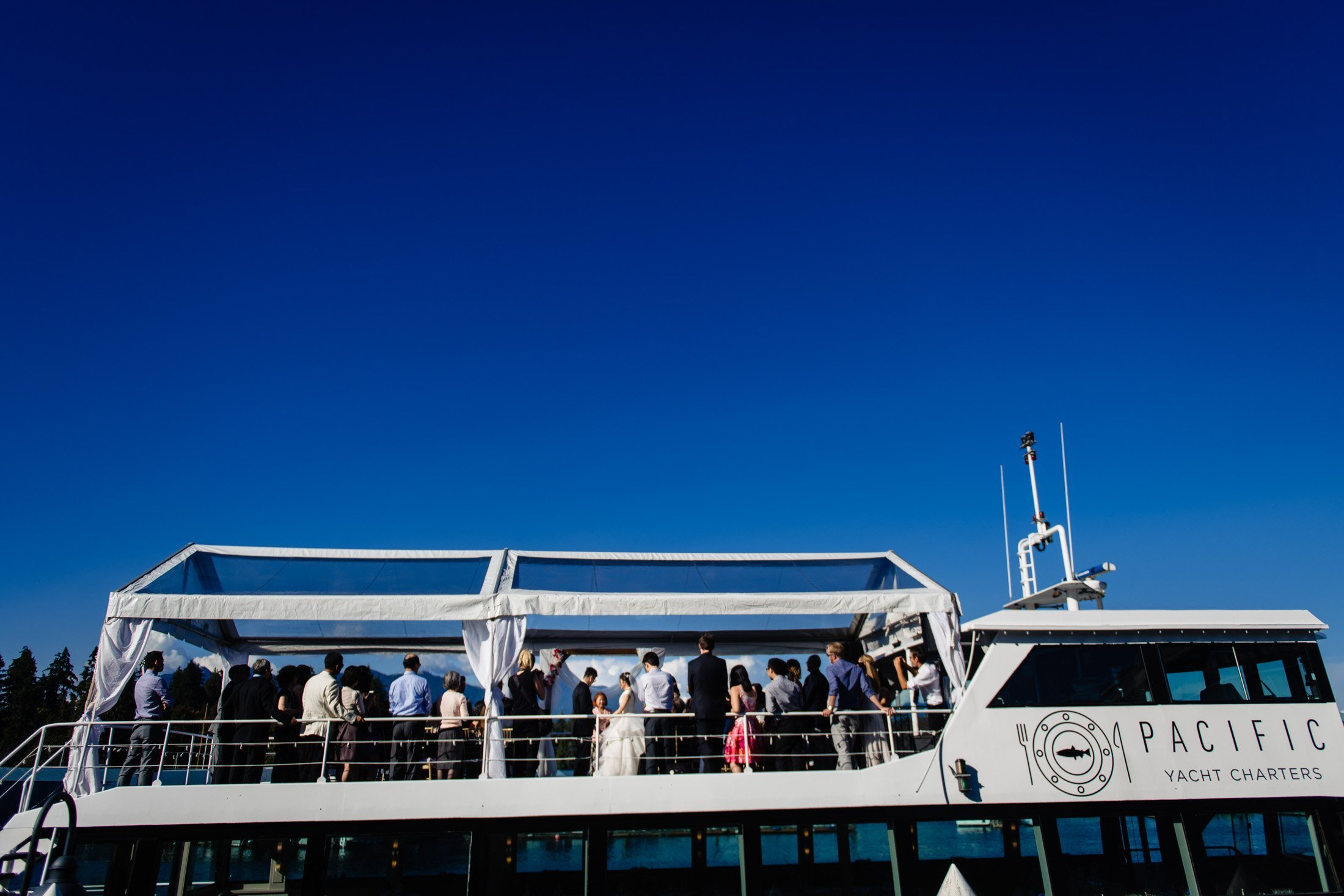 the wedding yacht vancouver review
