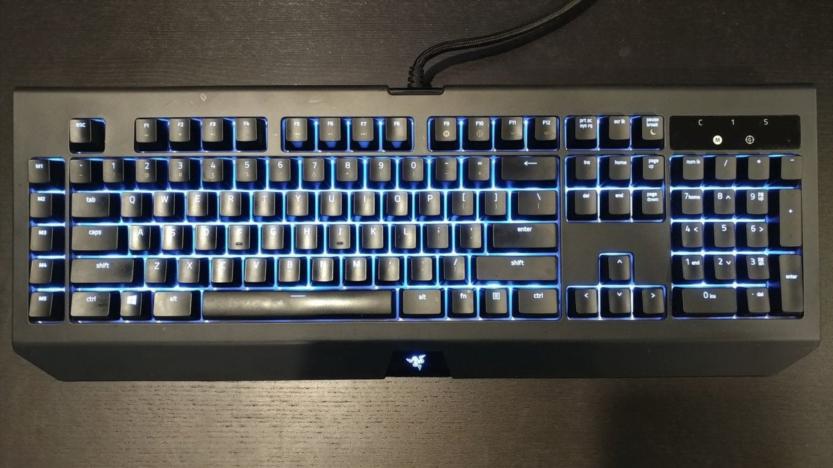 razer blackwidow chroma v2 yellow review