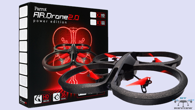 parrot ar drone power edition review