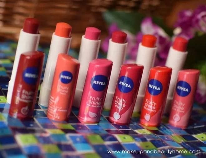 nivea cherry lip balm review