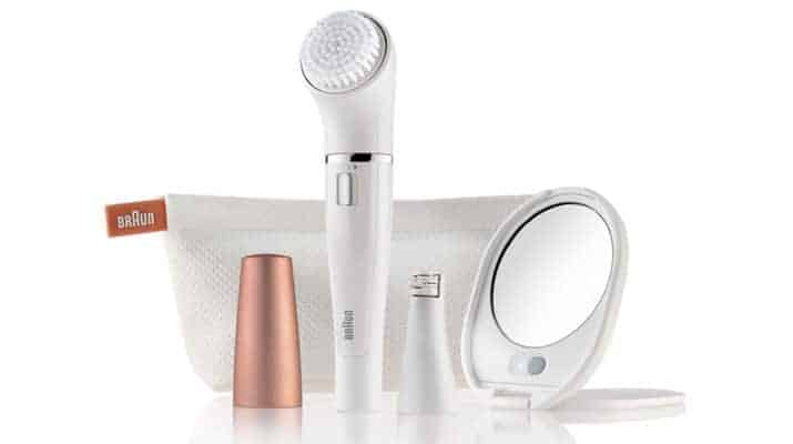 reviews on braun face epilator