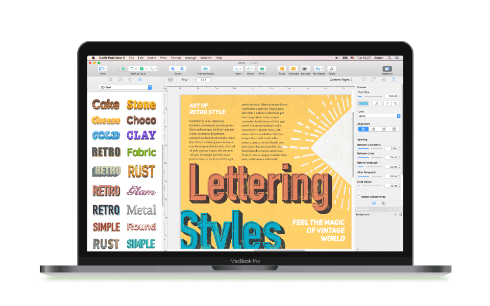 swift publisher for mac review