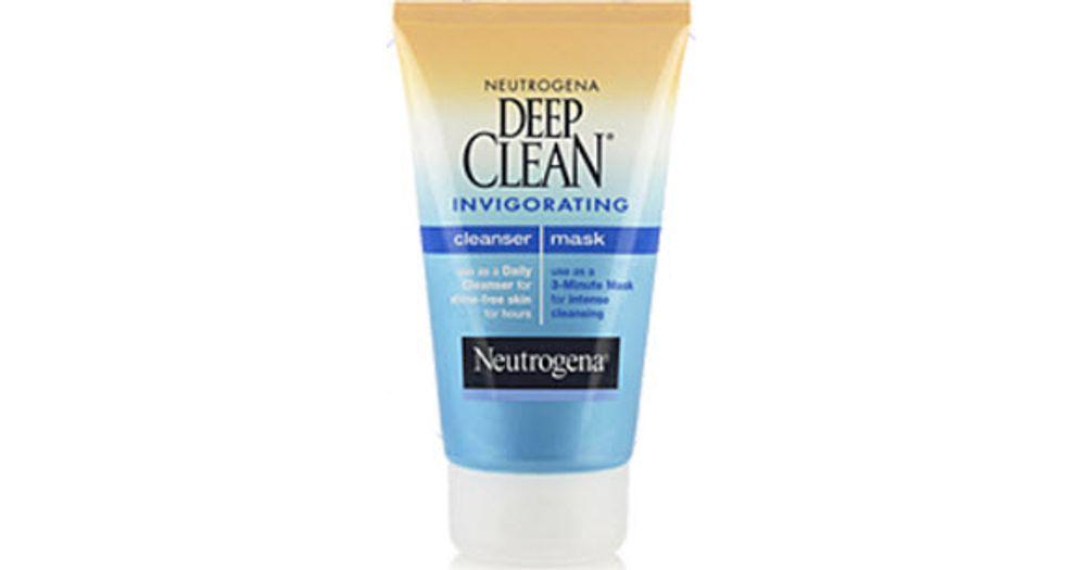 neutrogena deep clean cleanser mask review