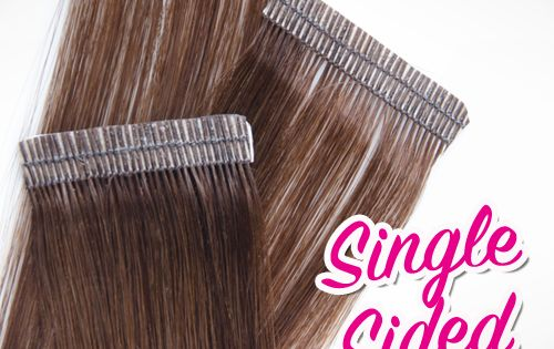 single sided tape hair extensions reviews
