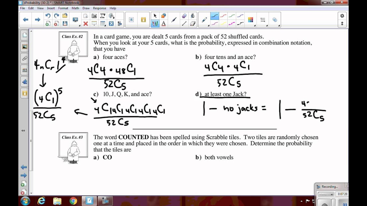 math 30 2 probability review
