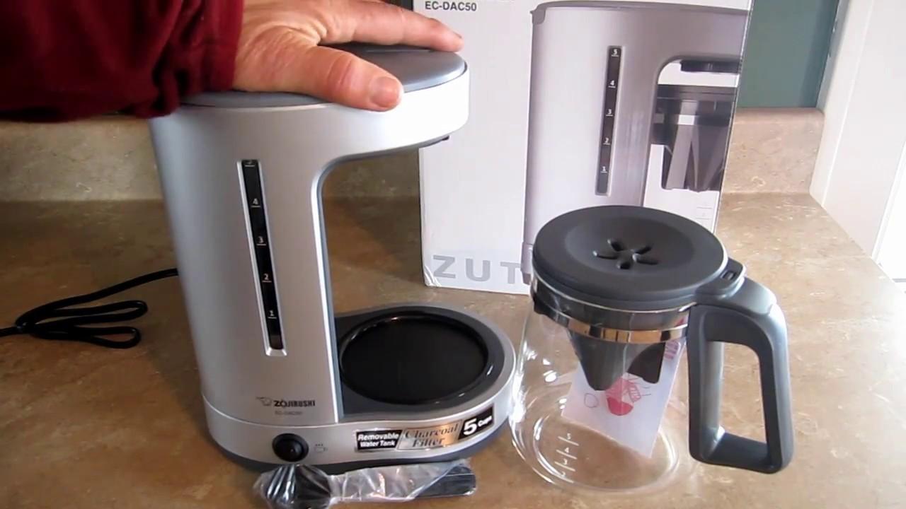 zojirushi zutto coffee maker review