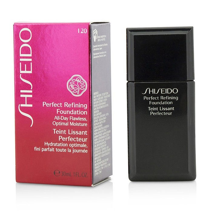 shiseido perfect refining foundation review