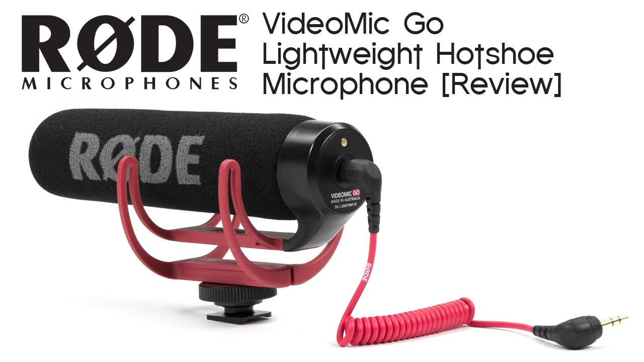 rode videomic go on camera microphone review