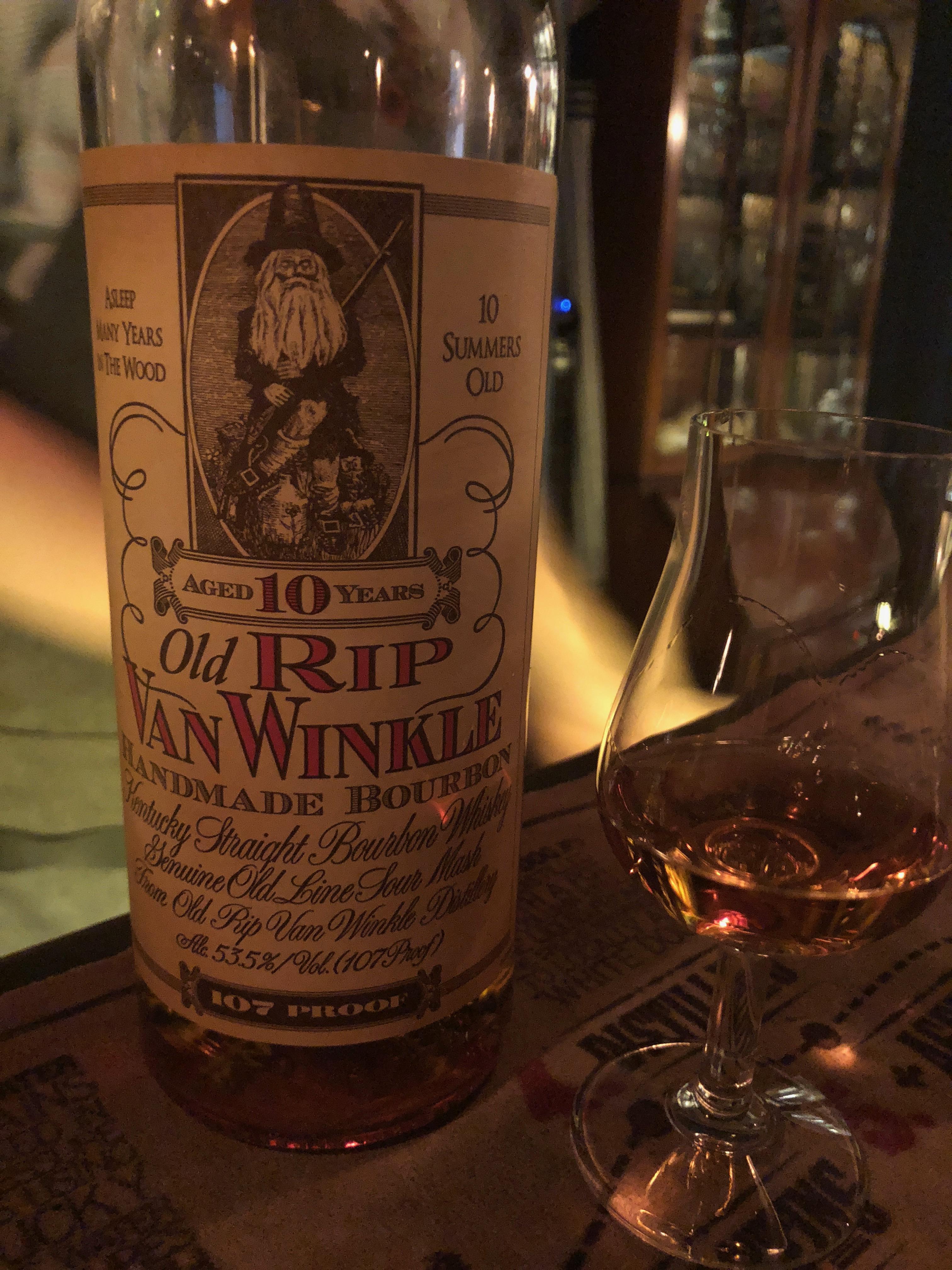 old rip van winkle 10 year review