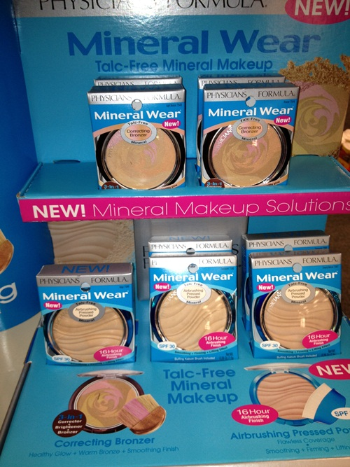 physicians formula mineral wear airbrushing pressed powder review