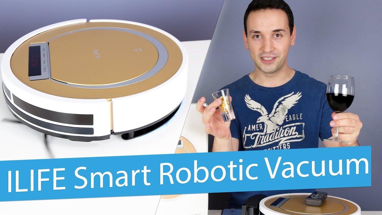 ilife x5 smart robotic vacuum cleaner review