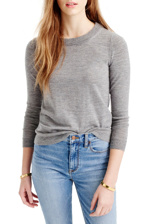 j crew tippi sweater review