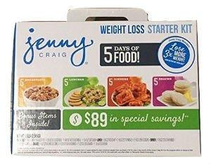 jenny craig starter kit reviews