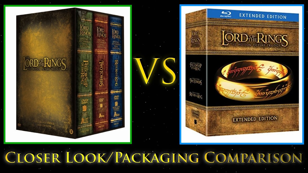 lotr extended blu ray review