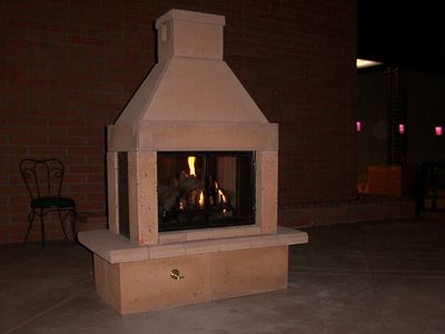 mirage stone outdoor fireplace reviews