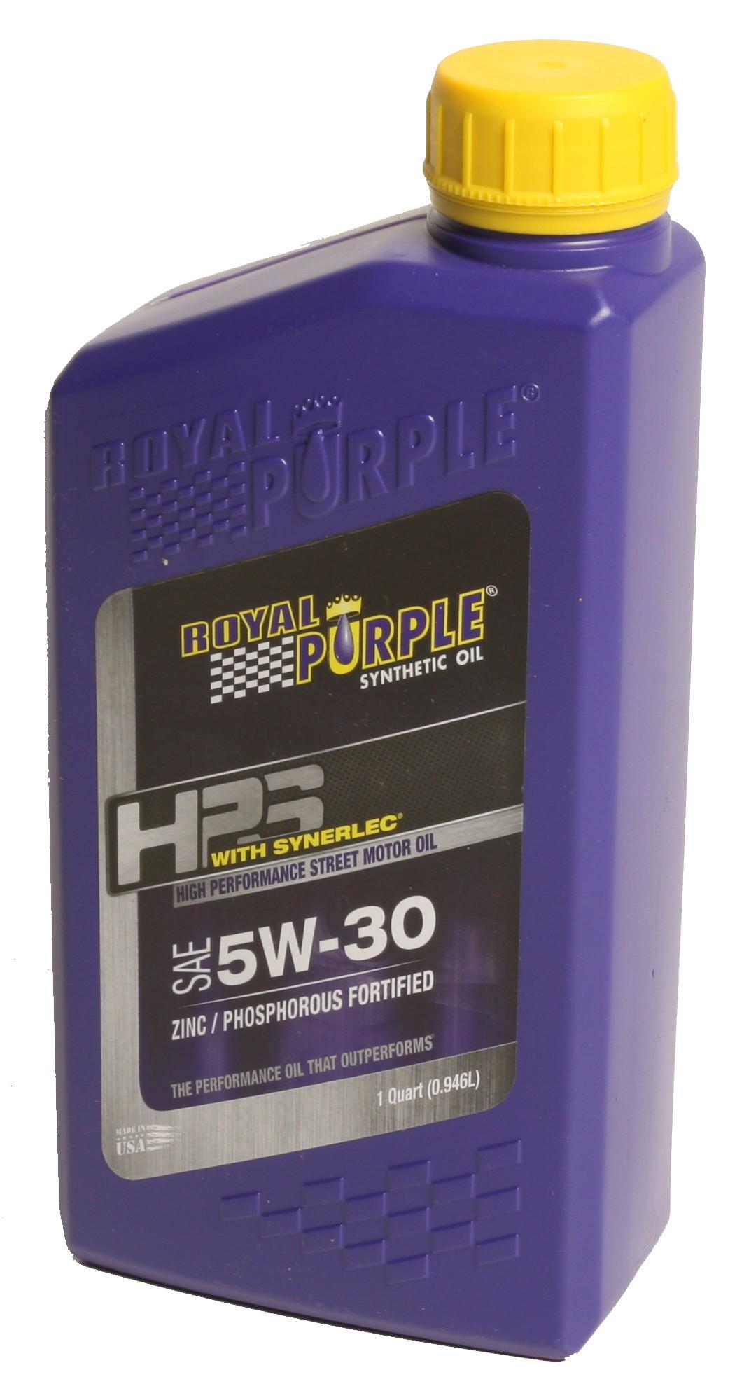 royal purple hps 5w30 review