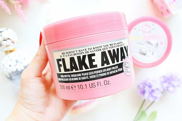 soap and glory flake away review