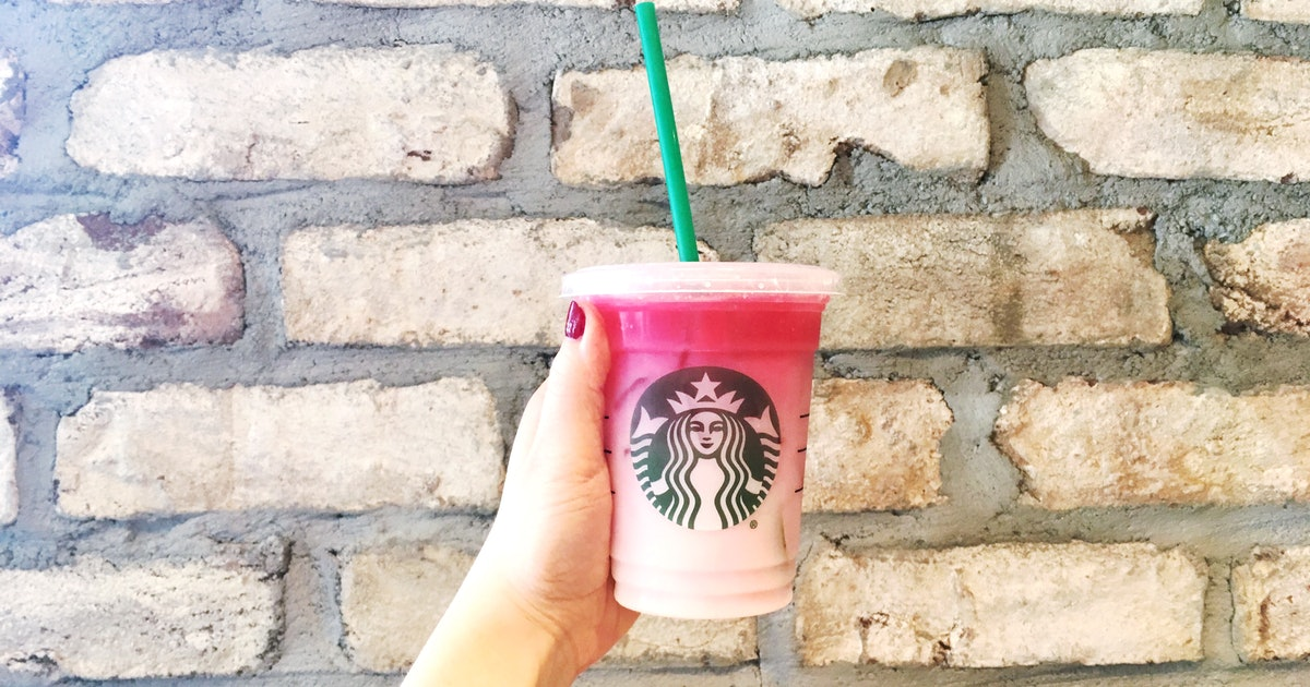 starbucks ombre pink drink review