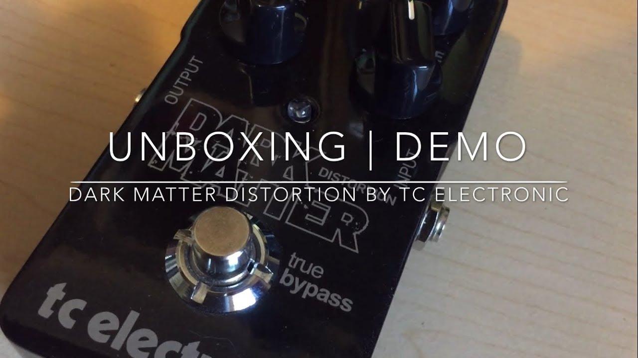 tc electronic dark matter distortion review