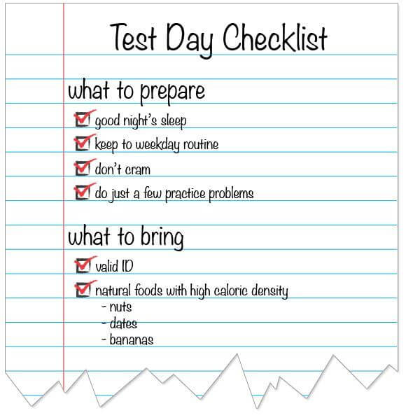 ways to review for a test
