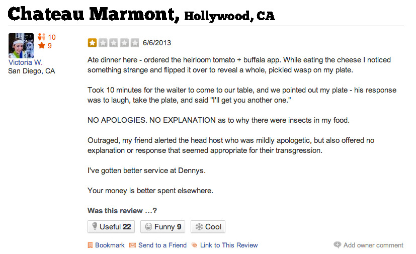 why did my yelp review get deleted