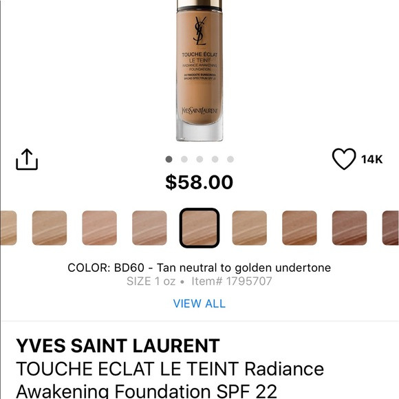 ysl touche eclat le teint radiance awakening foundation review